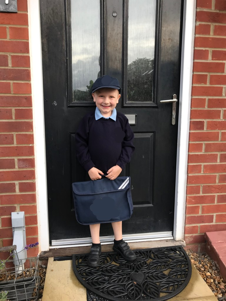 First Day of School, Year 1, godberstravel, cornwall, bilbosjourney, living with cancer, godberboys