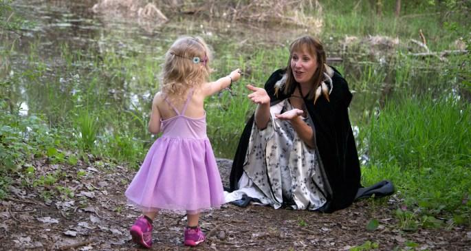 Goddess Tanya and Princess Olivia