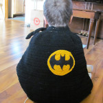 Batman Cape Crochet Pattern by Heidi Yates
