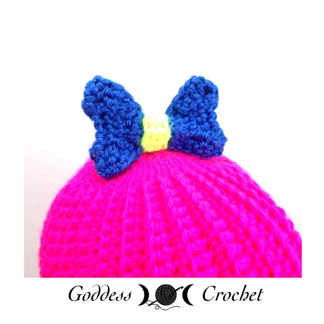 Boutique Bow crochet pattern, free crochet pattern, stitch11
