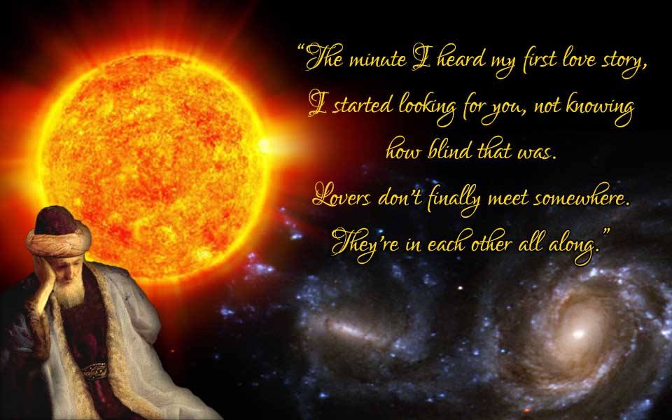 Rumi lovers quote