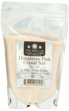 Himalayan seasalt for white teeth and healthy mouth