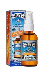 Sovereign Silver for white teeth and healthy mouth