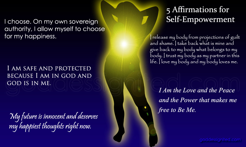 5 Affirmations for Self-Empowerment ⋆ Goddess Ignited