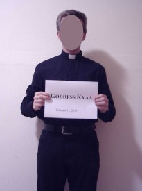 In February a Catholic priest approached me and expressed interest in discussing religion and philosophy with me.