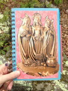 Art journal project from today.