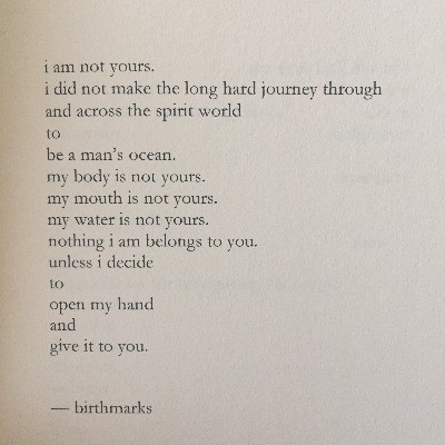 this is my body, salt, nayyirah waheed