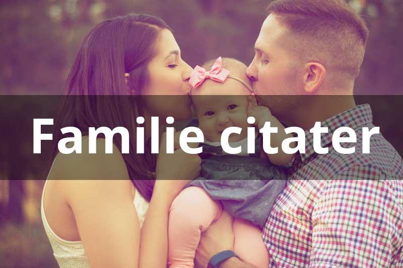 citater om familie