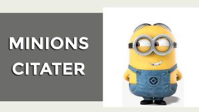 Photo of Minions citater