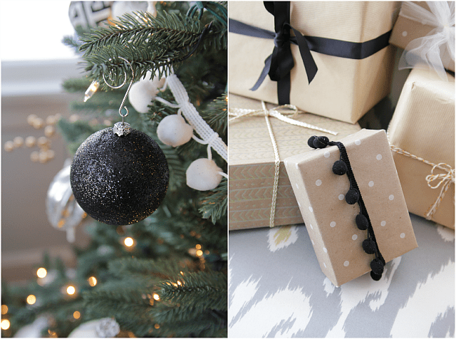 12 STYLISH BLACK & WHITE CHRISTMAS DECOR INSPIRATIONS