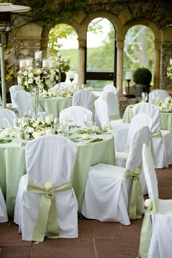 35 FRESH GREEN MARRIAGE DECORATIONS Godfather Style