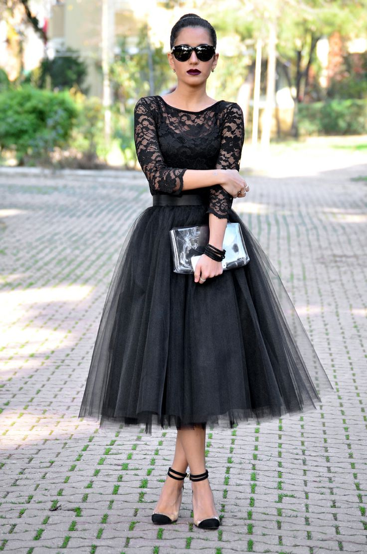 34 CLASSY TULLE SKIRTS TO FLAUNT IN THE SUMMER STREETS