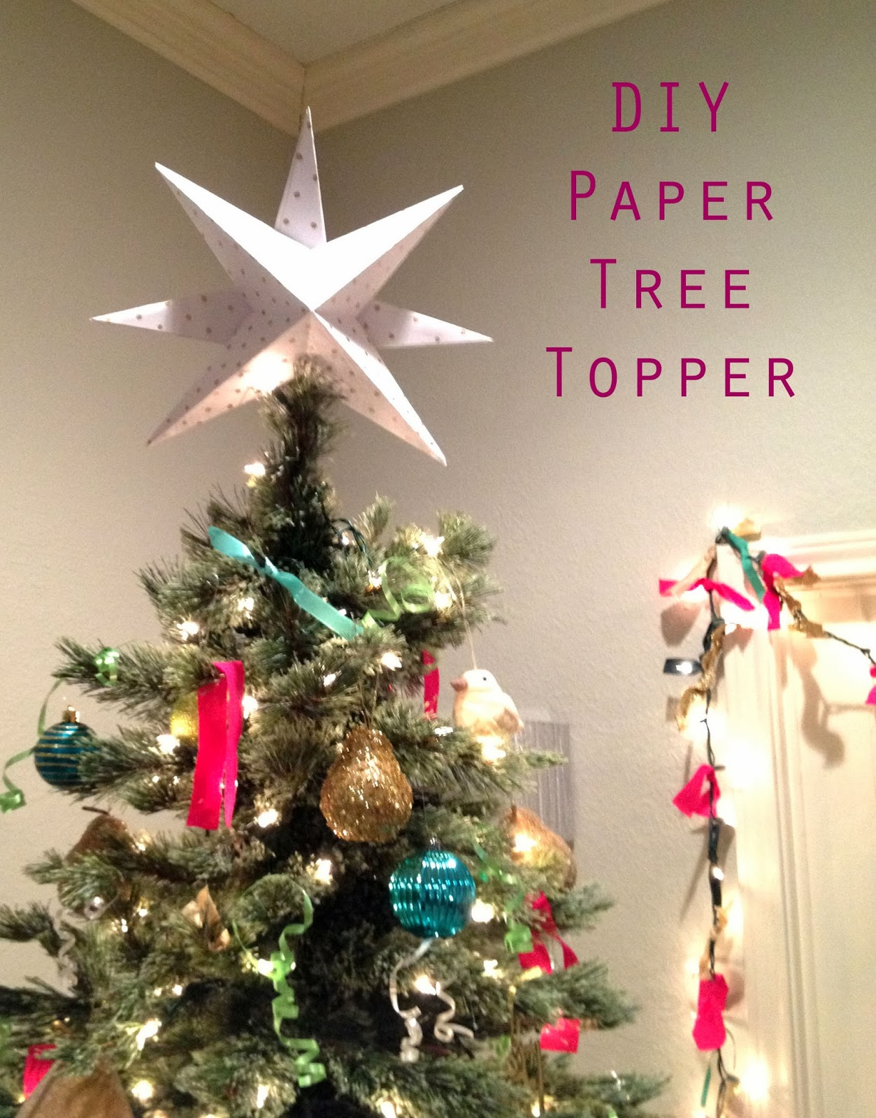 25 UNIQUE CHRISTMAS TREE TOPPERS TO COMPLETE YOUR CHRISTMAS TREE Godfather Style