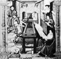 Une des premières imprimeries