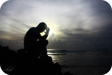 prayer silouette