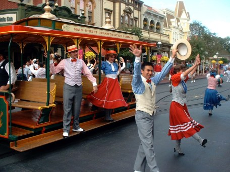 disney trolley show