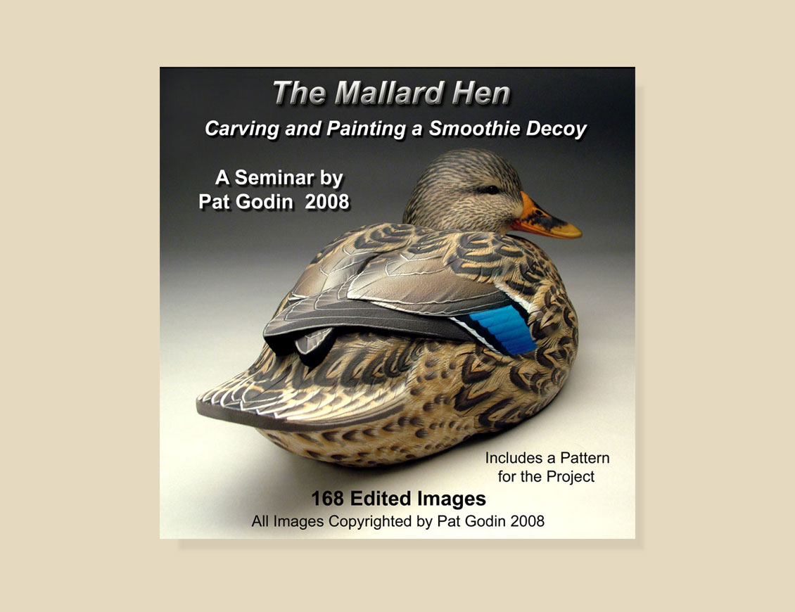 Decoy Carving Patterns Mallard