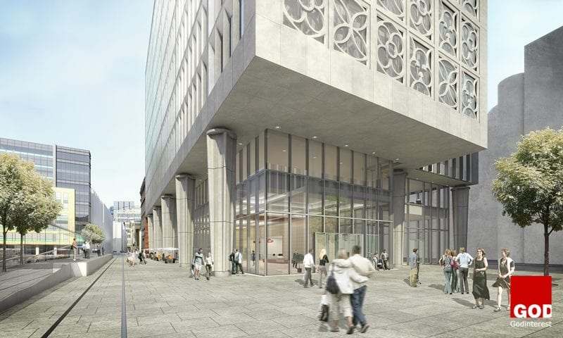 Two St Peters Square on Manchester's Mosley Street - Main Contractor: Laing O'Rourke