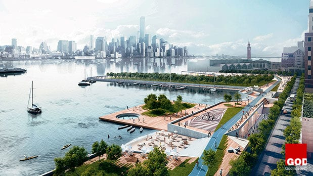 Ideas for rebuilding Hoboken, New Jersey after Hurricane Sandy.