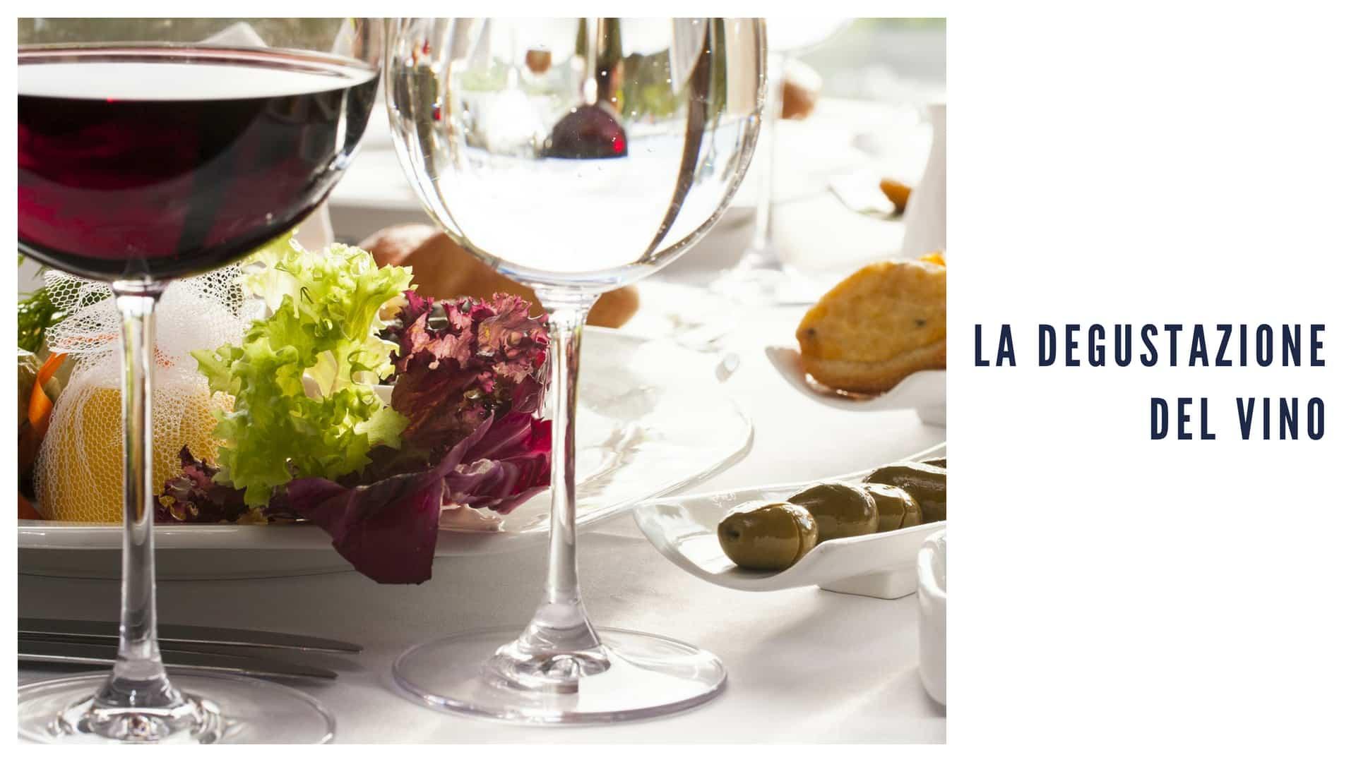 la degustazione del vino