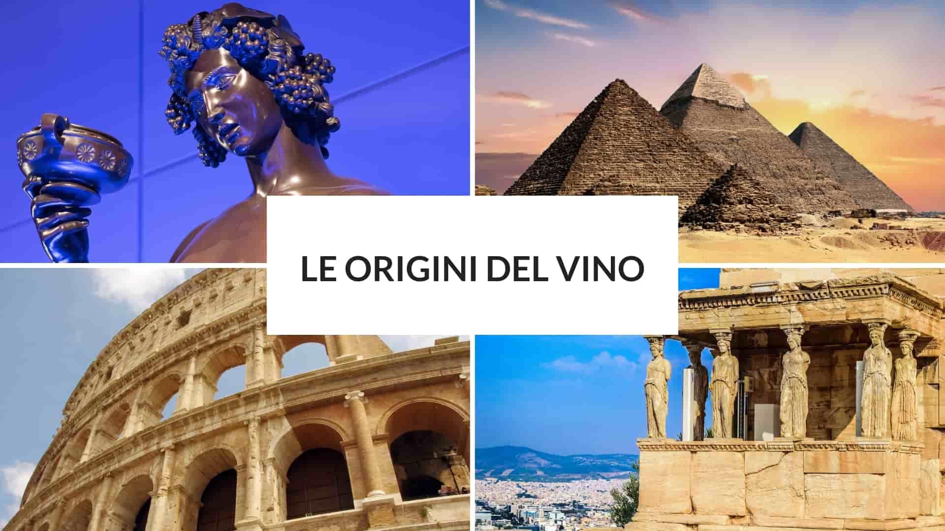 le origini del vino
