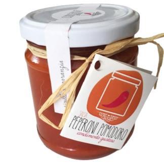salsa di peperoni e pomodoro