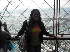Atop the Eiffel Tower