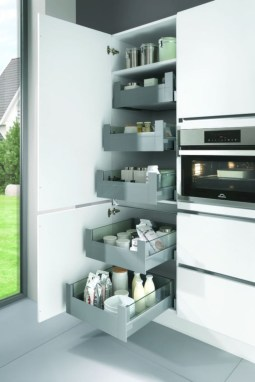 Awesome kitchen cupboard organization ideas 09