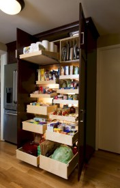 Awesome kitchen cupboard organization ideas 42