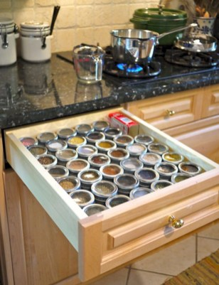 Awesome kitchen cupboard organization ideas 48