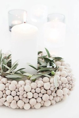 Diy decorating scandinavian christmas 27