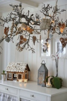 Diy decorating scandinavian christmas 31