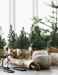 Diy decorating scandinavian christmas 39