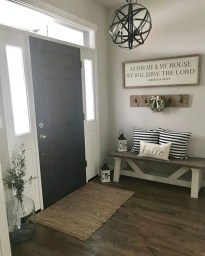 Diy farmhouse entryway inspiration 24
