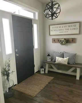 Diy farmhouse entryway inspiration 24