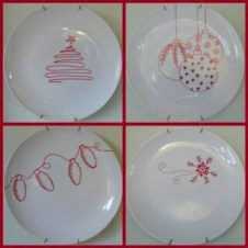 Diy painted porcelains to decorate your home 10