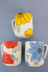 Diy painted porcelains to decorate your home 21
