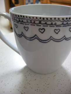 Diy painted porcelains to decorate your home 41