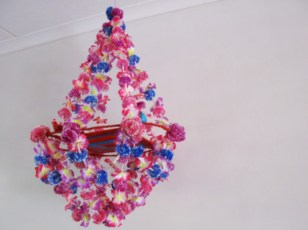 Diy polished chandelier planter 09