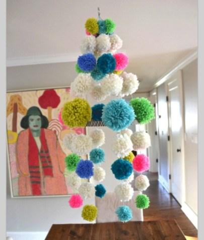 Diy polished chandelier planter 13