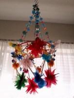Diy polished chandelier planter 14