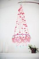 Diy polished chandelier planter 15