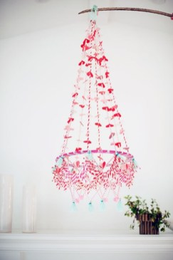 Diy polished chandelier planter 15