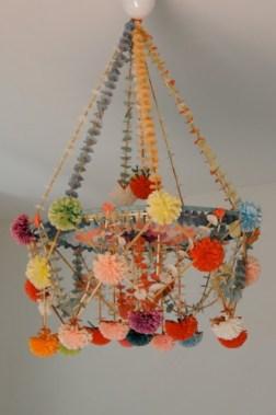 Diy polished chandelier planter 31