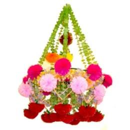 Diy polished chandelier planter 41