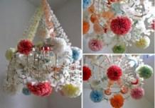 Diy polished chandelier planter 49