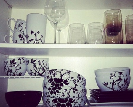 Diy sharpie dinnerware ideas 33
