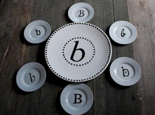Diy sharpie dinnerware ideas 40