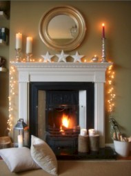 Fairy lights ideas for holiday decorating (29)