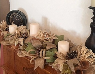 Ideas to decorate your space with candles for christmas 22